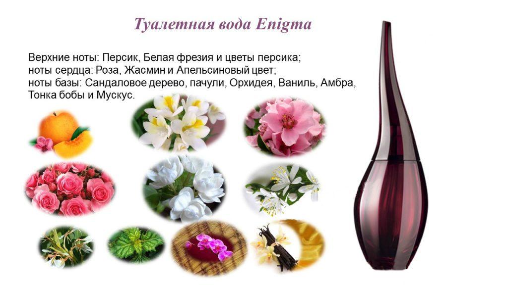 Enigma ноты аромата