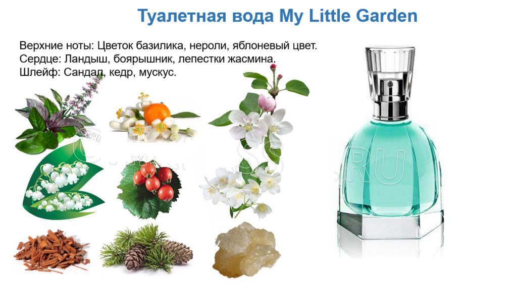 Му Little Garden туалетная вода