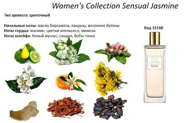 ноты Women's Collection Sensual Jasmine