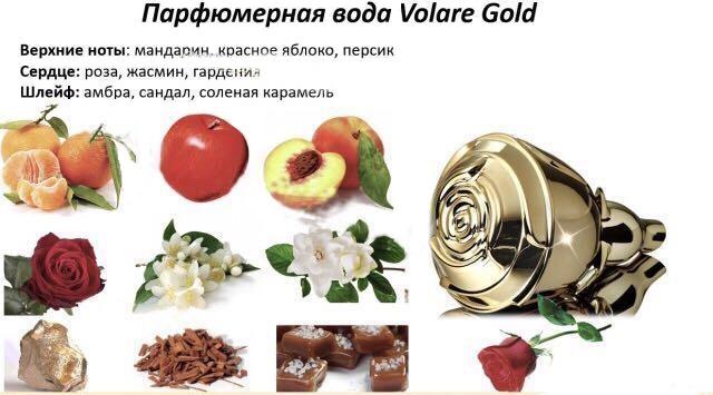 Volare Gold парфюмерная вода