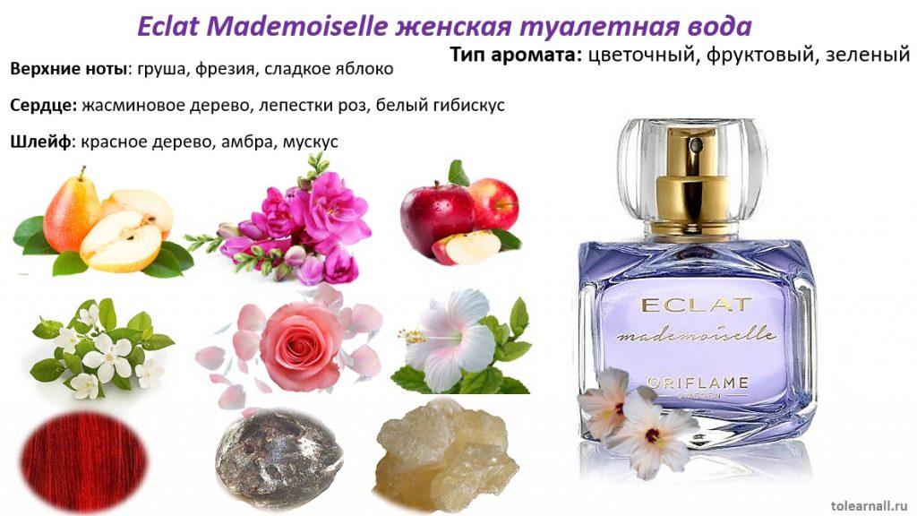 ноты Eclat Mademoiselle