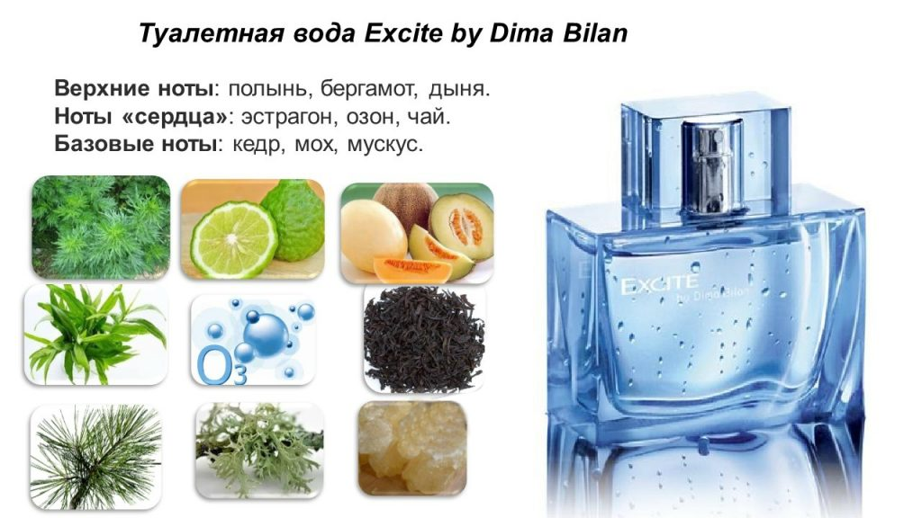 ноты Excite by Dima Bilan