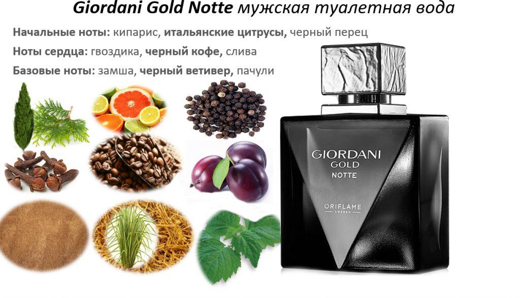 ноты Giordani Gold Notte