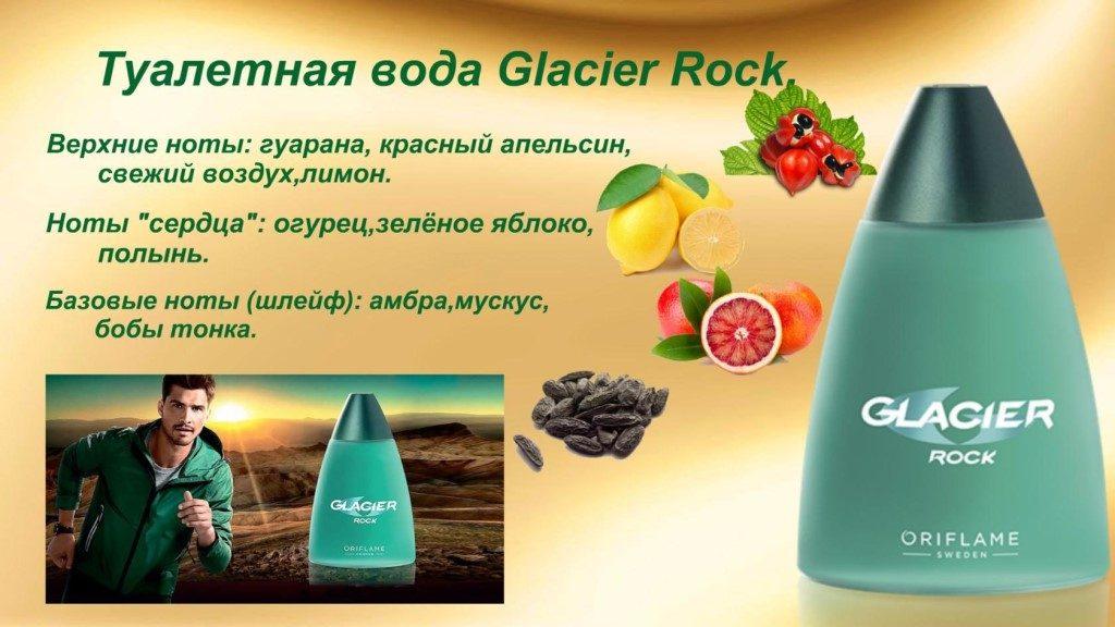 ноты Glacier Rock