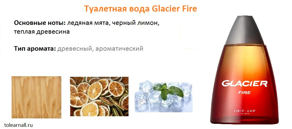 ноты Glacier Fire