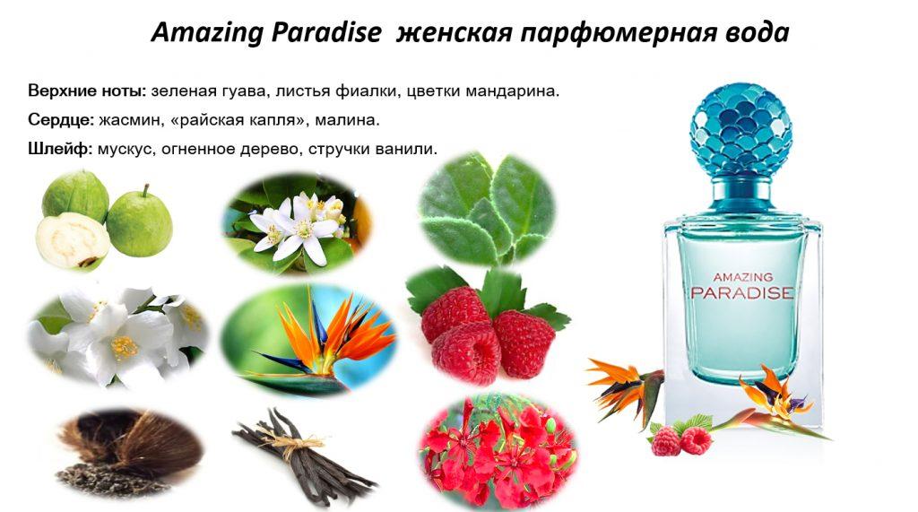 ноты Amazing Paradise