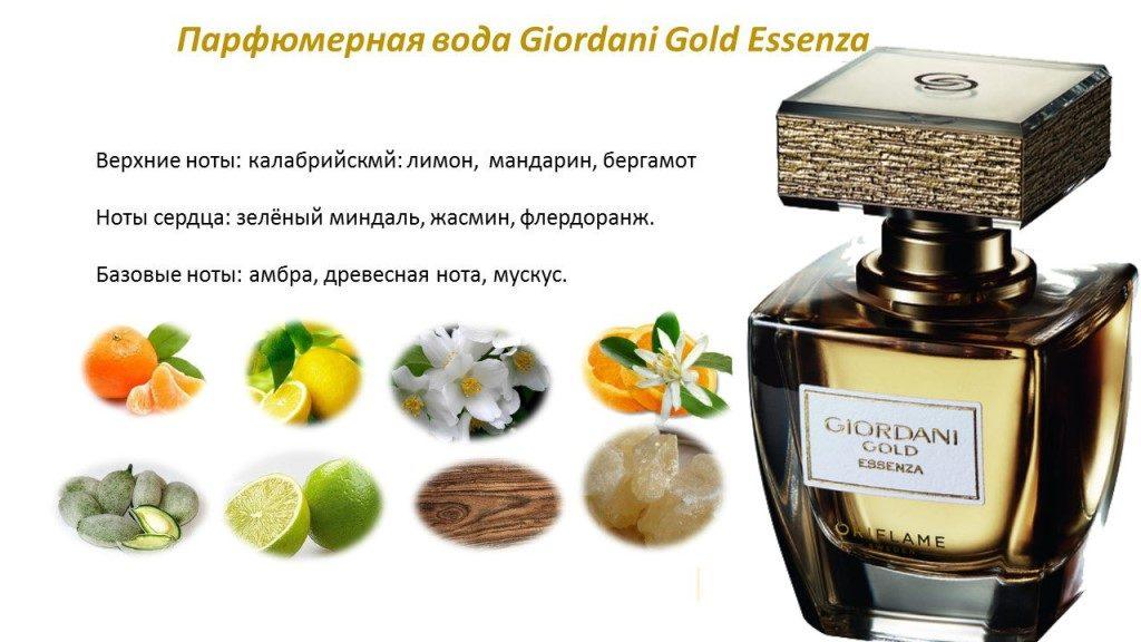 ноты Giordani Gold Essenza
