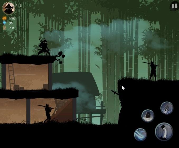 ниндзя араши игра скриншот игры воин востока