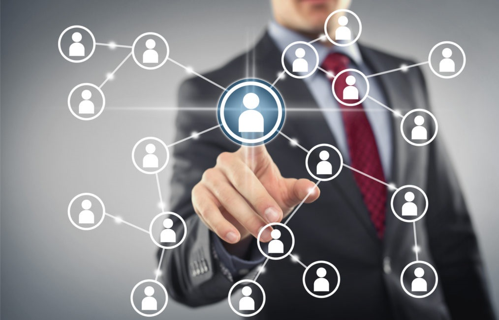 Social Network Interface мужчина