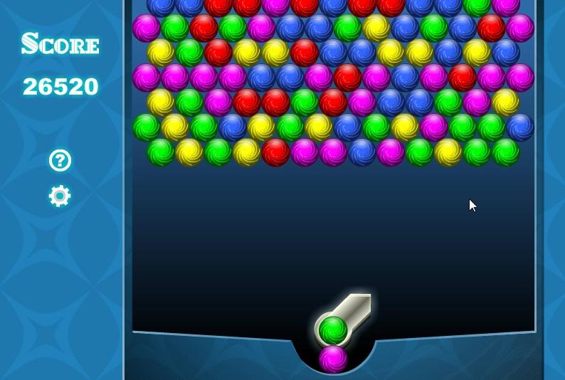Bouncing balls игровой процесс шарики