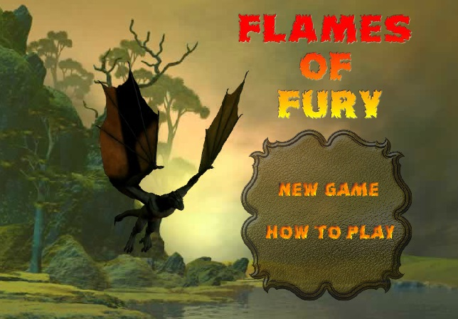 Flames of fury заставка дракон игра
