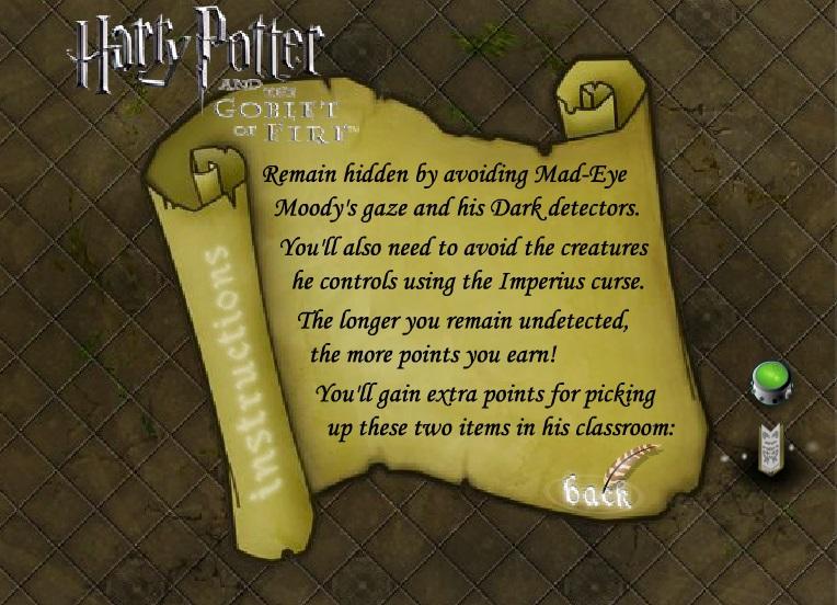 Игра Гарри Поттер инструкция