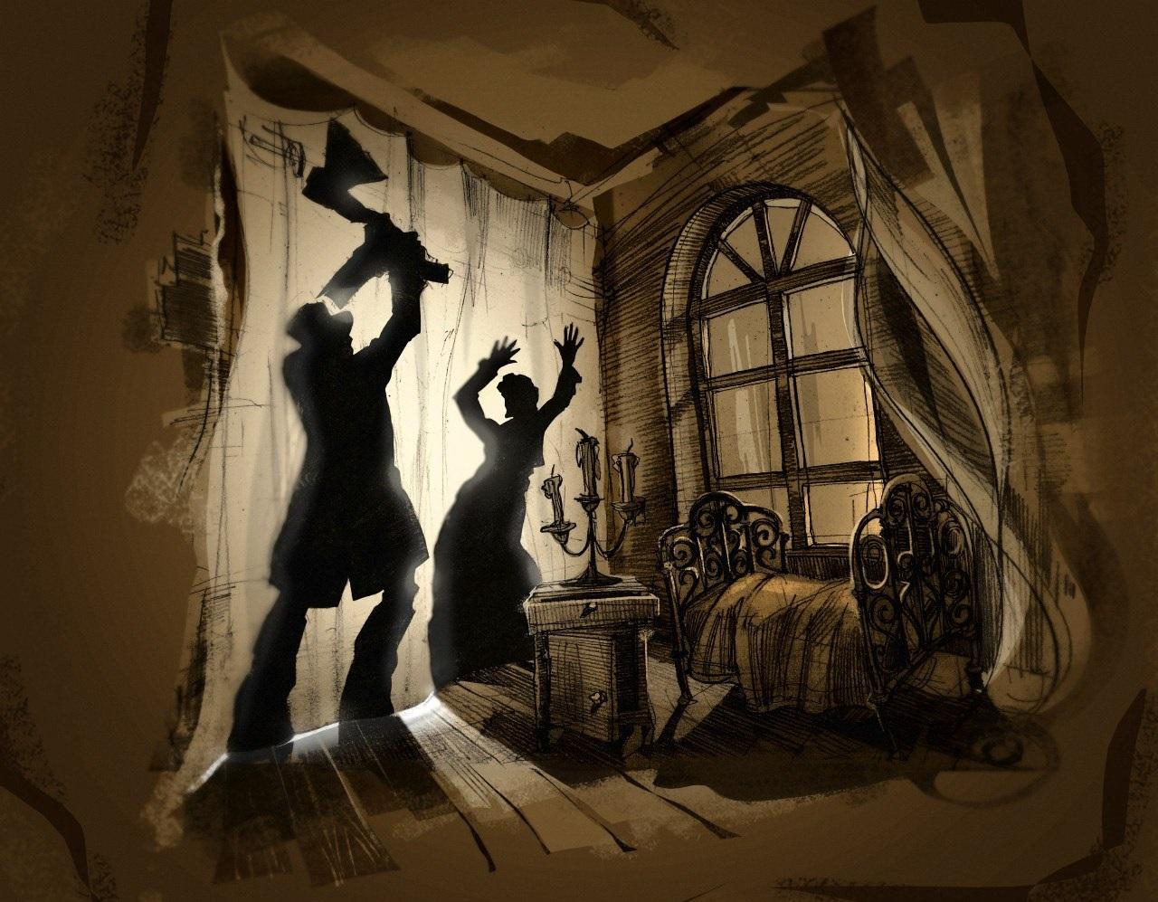 Преступление и наказание иллюстрация к книге картинка раскольников с топором в руках