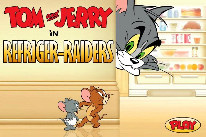 Том и Джерри холодильные рейдеры