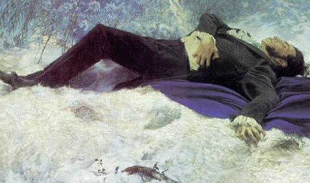 Смерть поэта лермонтов