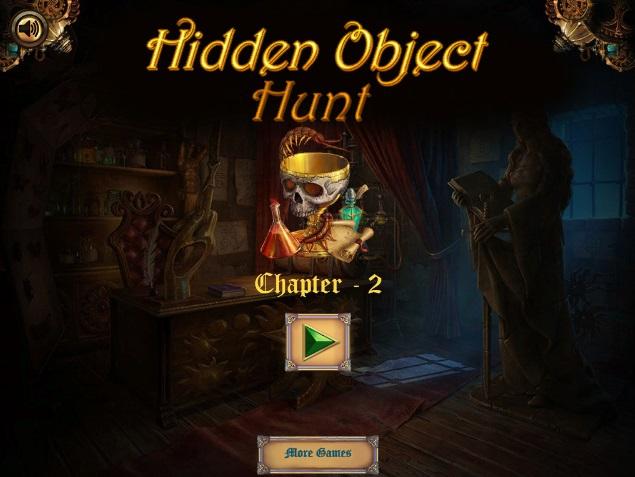 заставка игры hidden object hunt