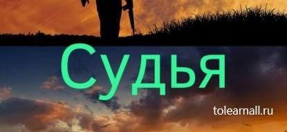 Обложка книги Дмитрий Леонидович Судья