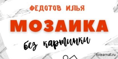 Обложка книги Илья Федотов Мозаика без картинки