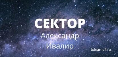 Обложка книги Александр Ивалир Сектор