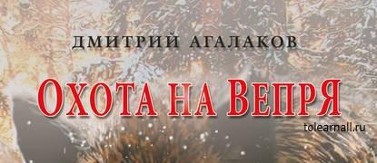 Обложка книги Дмитрий Агалаков Охота на Вепря
