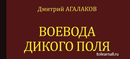 Обложка книги Дмитрий Агалаков Воевода Дикого поля