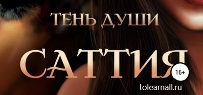 Обложка книги Юлия Макс Саттия. Тень души