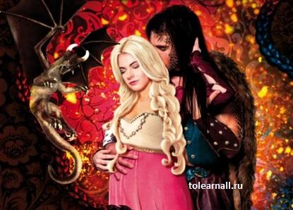 Обложка книги Призванная для Дракона Алина Углицкая