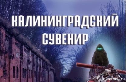 Обложка книги Калининградский сувенир Евгений Прядеев