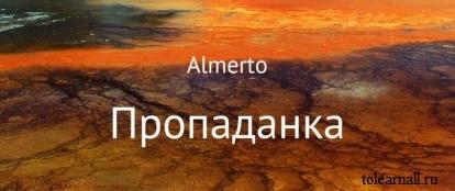 Обложка книги Пропаданка Almerto