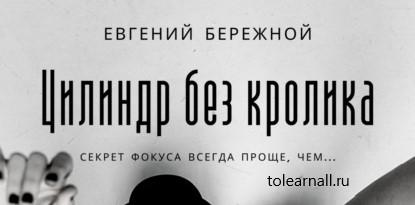 Обложка книги Евгений Бережной Цилиндр без кролика
